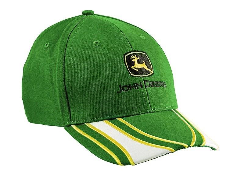 Gorra de lineas verde. Ampliar 67fc2d8d23c