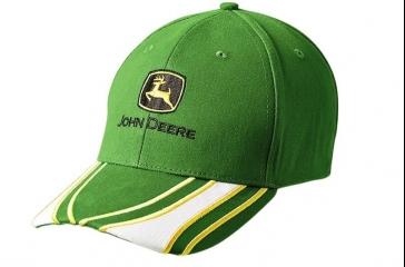 Gorra de lineas verde
