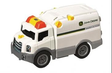 Juego construcción vehículo de mantenimiento