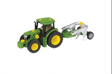 Juego de montaje tractor c/ diferentes remolques y arados