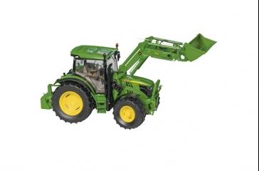 Tractor JD 6125R c/ cargadora frontal