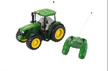 Tractor JD 6190R teledirigido