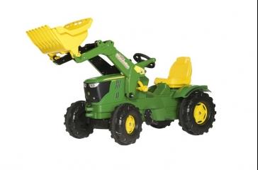 Tractor 6210R + Pala
