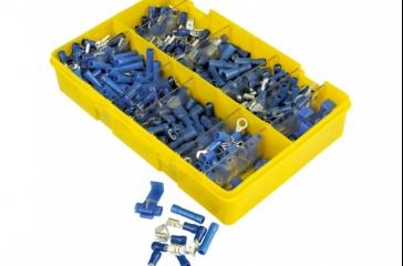 Kit de terminales eléctricos-Azul.