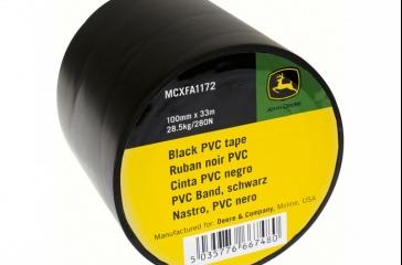 Cinta PVC Negra 100mmx33mm