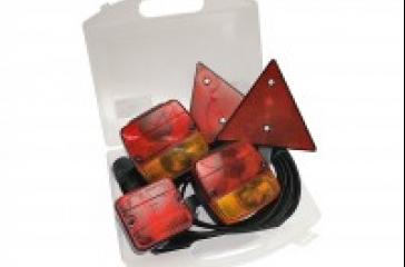 Luces remolque magnéticas c/reflector 7m.