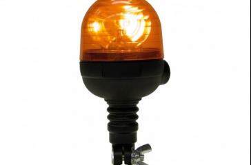 Luz aviso giratoria compacta