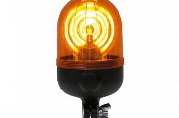 Luz de aviso giratoria c/ mástil