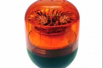 Luz aviso con LED c/ montaje sobre espárrago