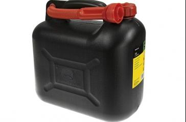 Bidón combustible 10L negro