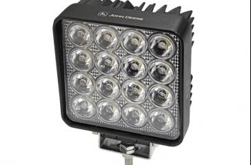 Faro LED cuadrado - Lente proyector