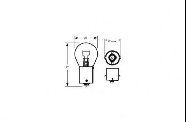 Paquete lámpara taller 12,8V/2,1/BA205